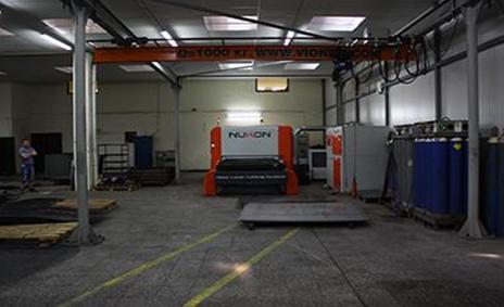 Машините за лазерно рязане на Металин