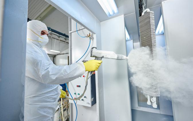 Технология на праховото боядисване